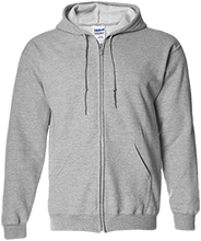 St. Michael's School Embroidered Zip Up Hoodie