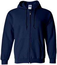 Aquinas High School Blugolds Embroidered Zip Up Hoodie