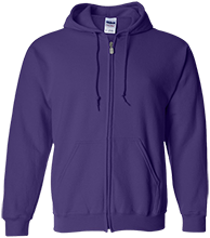 Waukee Middle School Warriors Embroidered Zip Up Hoodie