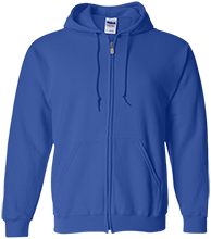 Franklin Middle School School Embroidered Zip Up Hoodie