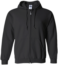 Indian Community School Eagles Embroidered Zip Up Hoodie