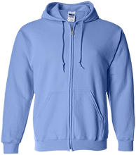 Kingston Elementary School Owls Embroidered Zip Up Hoodie