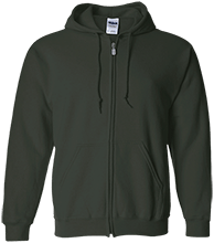 Bennett Woods Elementary School Trailblazers Embroidered Zip Up Hoodie