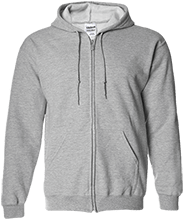 Accomodation Middle School School Embroidered Zip Up Hoodie