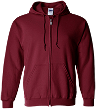 Shepherd Of The Valley Lutheran Embroidered Zip Up Hoodie