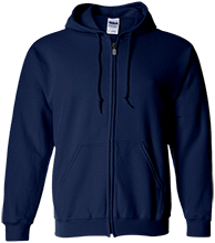 Lansing Eastern High School Quakers Embroidered Zip Up Hoodie