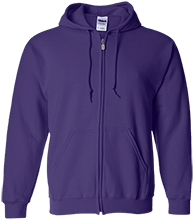Lamont Christian School Embroidered Zip Up Hoodie