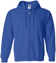 Farms Middle School Eagles Embroidered Zip Up Hoodie