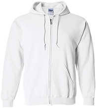 Manchester East Soccer Embroidered Zip Up Hoodie