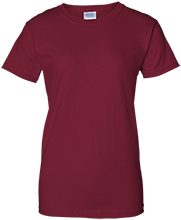 Shepherd Of The Valley Lutheran Ladies Custom 100% Cotton T-Shirt