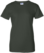 Janesville Parker High  School Vikings Ladies Custom 100% Cotton T-Shirt