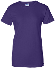 Califon Public School Cougars Ladies Custom 100% Cotton T-Shirt