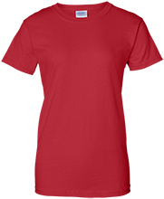 Bucyrus Middle School Redmans Ladies Custom 100% Cotton T-Shirt