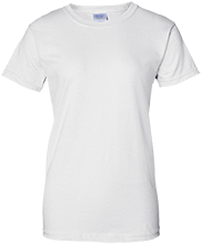 Baseball Ladies Custom 100% Cotton T-Shirt