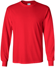 Saint Clairsville High School Red Devils LS Ultra Cotton Tshirt