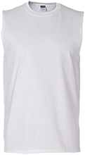 Shepherd Of The Valley Lutheran Men's Cotton Sleeveless T-Shirt