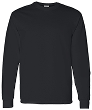 Fitness Adult 5.3 oz 100% Cotton Long-Sleeve T-Shirt