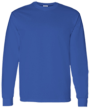 Malverne High School Adult 5.3 oz 100% Cotton Long-Sleeve T-Shirt
