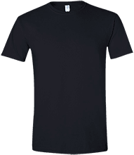 Critic Mens Slim-fit Softstyle T-Shirt