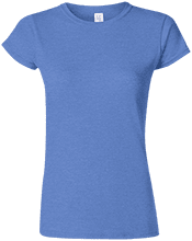 Malverne High School Soft Style Ladies Fitted Tshirt