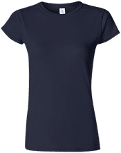Lansing Eastern High School Quakers Soft Style Ladies Fitted Tshirt