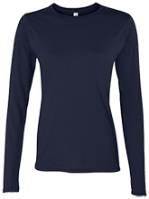 Lansing Eastern High School Quakers Ladies' Softstyle 4.5 oz. Long-Sleeve T-Shirt
