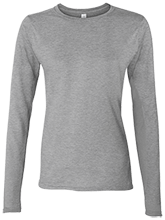 Malverne High School Ladies' Softstyle 4.5 oz. Long-Sleeve T-Shirt