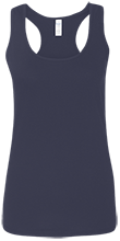 Lansing Eastern High School Quakers Ladies Softstyle Racerback Tank
