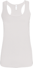 St. Francis Indians Football Ladies Softstyle Racerback Tank
