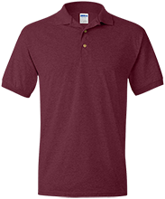 Gloversville Middle School Huskies Jersey Polo Shirt for Him