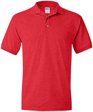 East High School (Wauwatosa) Red Raiders Jersey Polo Shirt for Him