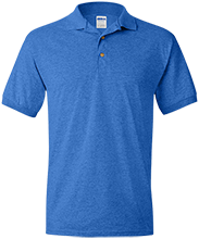 Buffalo Springs School School Jersey Polo Shirt for Him