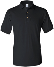 Cesar Chavez Elementary School White Tigers Jersey Polo Shirt for Him