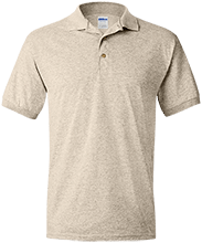 Shepherd Of The Valley Lutheran Jersey Polo Shirt for Him