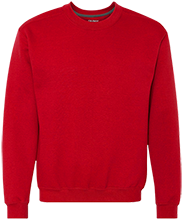 Lamar Middle School Longhorn Heavyweight Crewneck Sweatshirt 9 oz