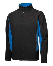 Shore Regional High School Blue Devils Colorblock Soft Shell Jacket