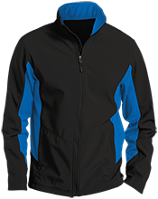 Batesville Schools Bulldogs Colorblock Soft Shell Jacket