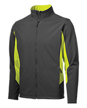 The Computer School Terrapins Colorblock Soft Shell Jacket