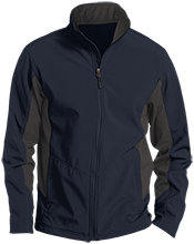 North Sunflower Athletics Colorblock Soft Shell Jacket