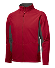 Perry High School Ramblers Colorblock Soft Shell Jacket