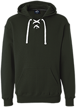 Greenfield High School Green Wave Heavyweight Sport Lace Hoody