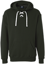 Bennett Woods Elementary School Trailblazers Heavyweight Sport Lace Hoody