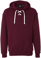 Milwaukie High School Mustangs Heavyweight Sport Lace Hoody