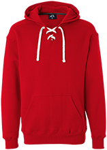 Audubon Middle Cardinals Heavyweight Sport Lace Hoody