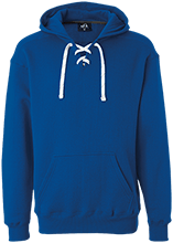 Pacific Coast Christian School Dolphins Heavyweight Sport Lace Hoody