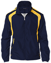 Owosso Junior High School Trojans Youth Colorblock Jacket