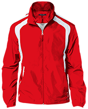 Sublette High School Larks Personalized Jersey-Lined Jacket