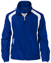 Carman-Ainsworth High School Cavaliers Youth Colorblock Jacket