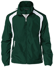 Janesville Parker High  School Vikings Personalized Jersey-Lined Jacket