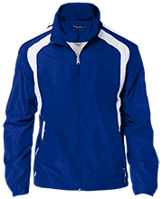 Wayne Elementary School Blue Devils Personalized Jersey-Lined Jacket